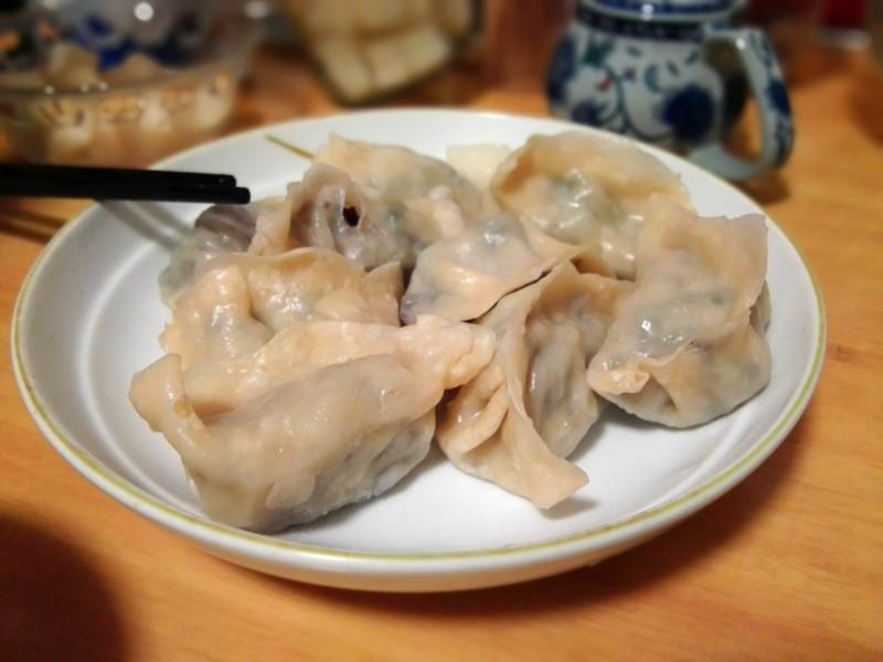 traditional Chinese dumplings, jiaozi